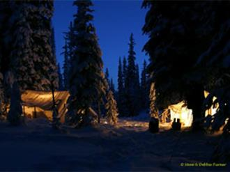 Drop Camp tents are a welcome site after a long day of hunting!